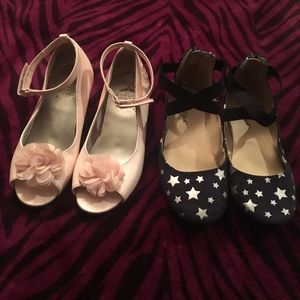 Other - Bundle Of 2 Pairs of Little Girls' Shoes, Sz 11